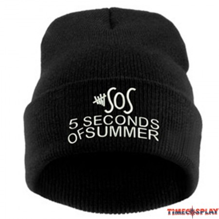 5 seconds of sunmmer SOS Logo Beanies Cosplay Cap