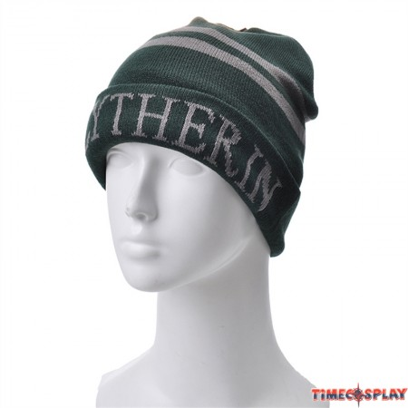 Harry Potter Slytherin Knit Hat Cap