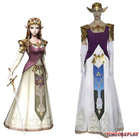 The Legend of Zelda Princess Zelda Cosplay Wedding Dress Costume