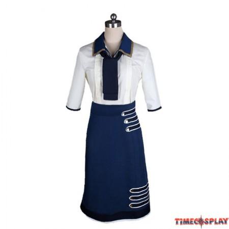 Bioshock Infinite 3 Cosplay Elizabeth Daisy Fitzroy Uniform Costume