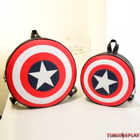 Captain America Shield Logo Cool Backpack Bag