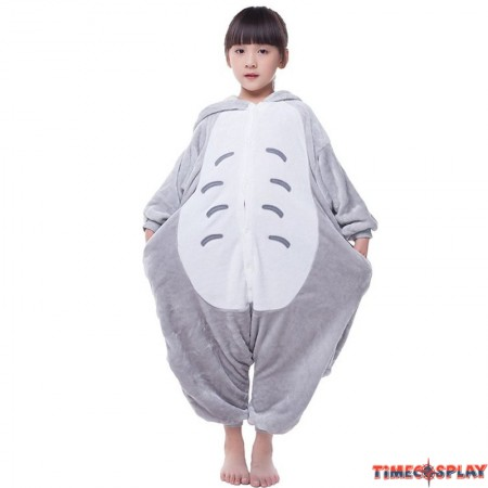 Childrens Halloween Totoro Onesie Kigurumi Onesie Animal Pajama Cosplay For Kids