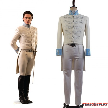 Cinderella Film Prince Charming Kit Outfit Cosplay Costume