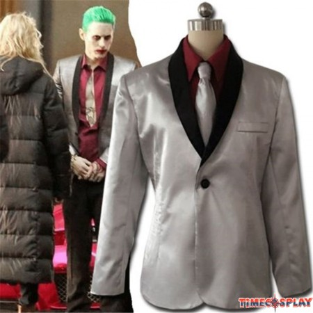 DC 2016 Movie Suicide Squad Batman Joker Suit Cosplay Costume