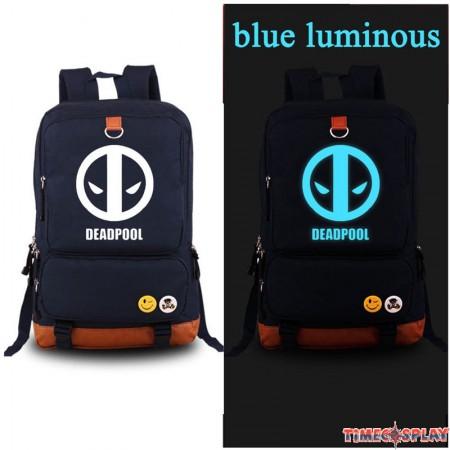 Deadpool Luminious Schoolbag Backpack