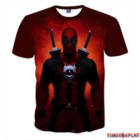 Deadpool Movie 3D Men T-Shirt Tee Shirt
