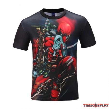 Deadpool Movie 3D Print Cool T-Shirt