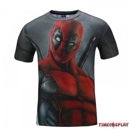 Deadpool Movie 3D Style Men T-shirt