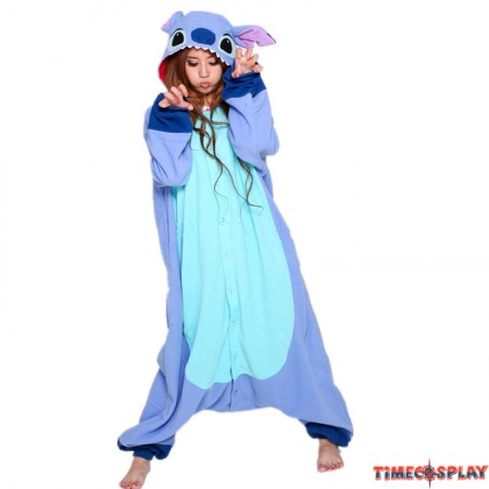 Disney Stitch Onesie Kigurumi Pajamas for Adults