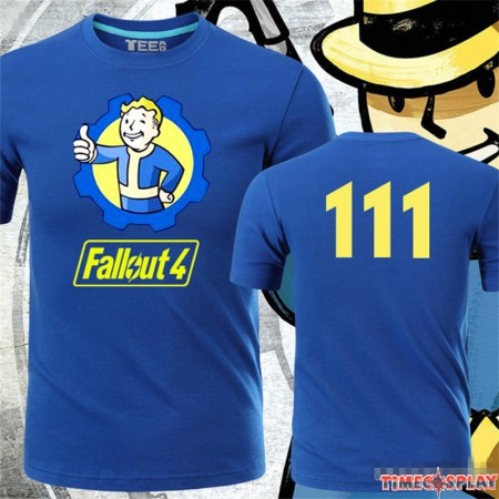 Fallout 4 Vault Boy Thumbs Up 111 Logo T-Shirt