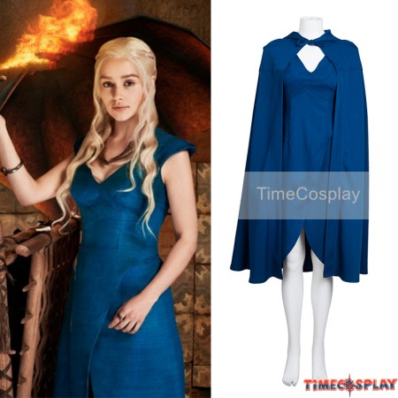 Game of Thrones Daenerys Targaryen Dress Cosplay Costumes