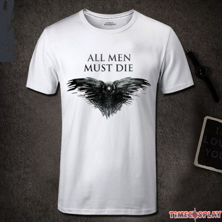Game Of Thrones All Men Must Die Raven T-Shirt