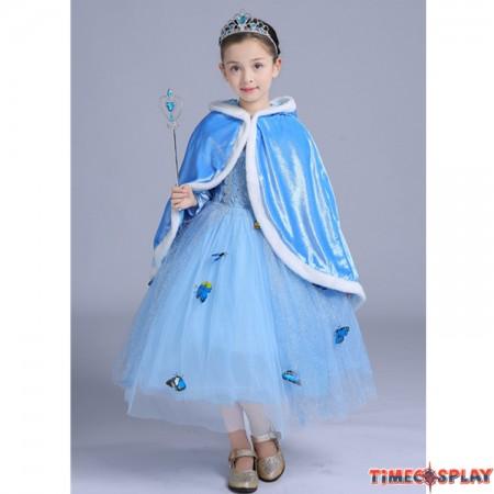 Halloween Kids Cinderella Princess Dress