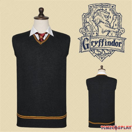 Harry Potter Gryffindor Vest School Uniform Sweatershirt
