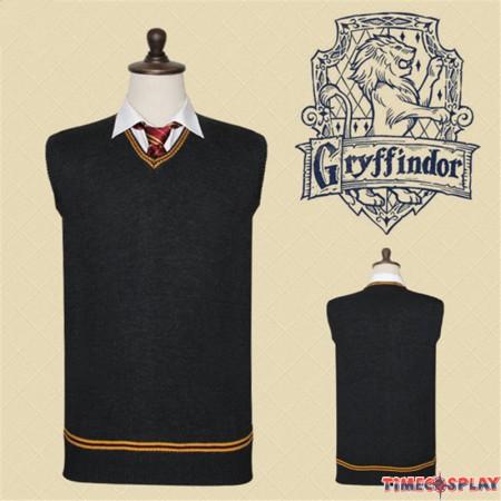 Harry Potter Gryffindor Vest Sweater School Uniform