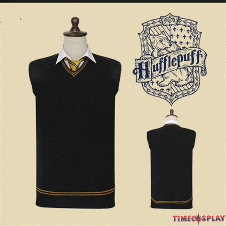Harry Potter Hufflepuff Vest School Uniform Sweatershirt