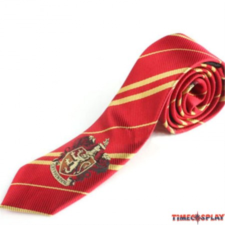 Harry Potter Gryffindor Silk Necktie Tie