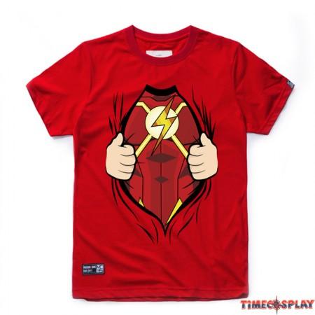 I AN The Flash Cosplay Tee Shirt T-Shirts