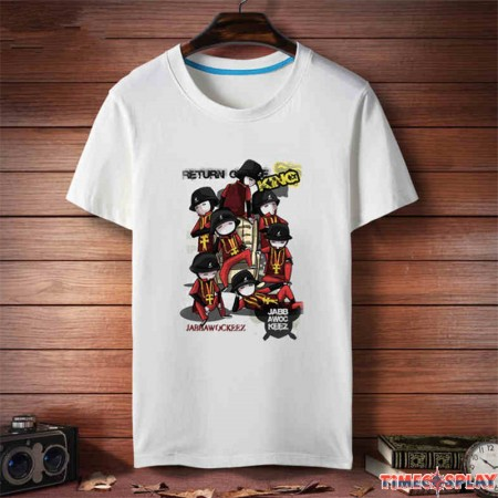 Jabbawockeez HIP-HOP Short Sleeve Tee Shirt