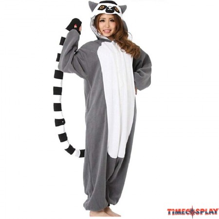 Lemur Onesie Kigurumi Pajama For Adults