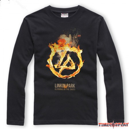 Linkin Park Burning In The Skies Long Tee Shirt