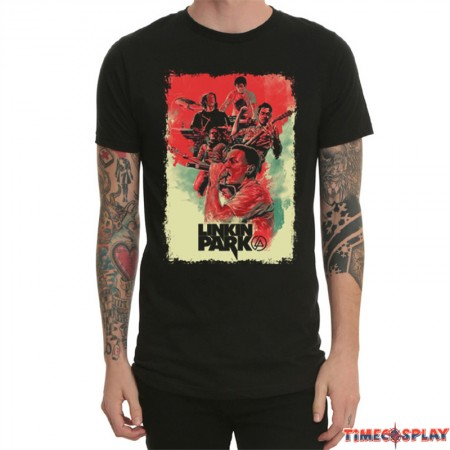 Linkin Park Rock Men Short Sleeve T-shirt Tee Shirt