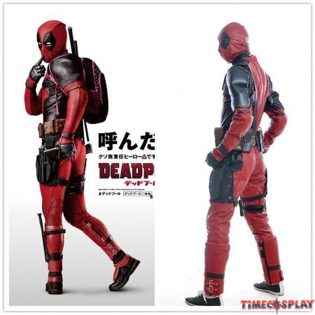 Marvel Deadpool Cosplay Wade Winston Wilson Costume