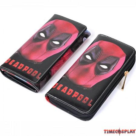 Marvel Deadpool Faux Leather Long Wallet