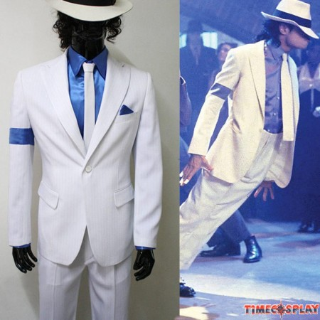 Michael Jackson Smooth Criminal Halloween Uniform Costume Custom Made