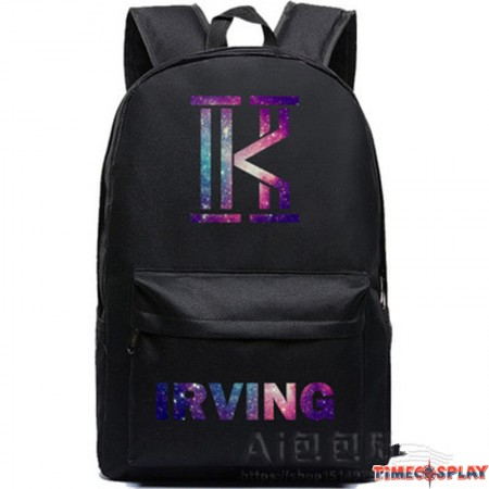 Timecosplay NBA Cleveland Cavaliers Kyrie Irving 2 Logo Backpack School Bag