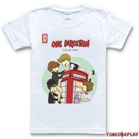One Direction Q Tee Shirt Discount