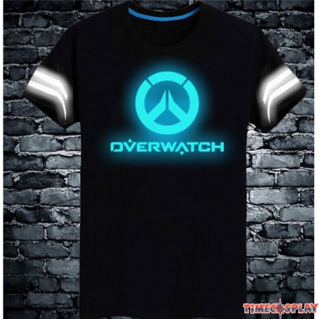 Overwatch Logo 3M Reflective Light Men T-Shirt Tee Shirt