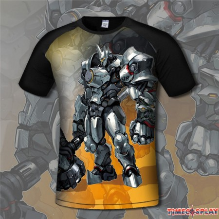 Overwatch Reinardt 3D Print Men T-Shirts