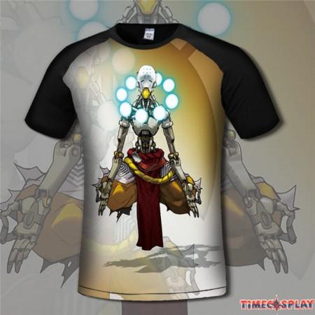 Overwatch Zenyatta 3D Print Men T-Shirts Tee Shirt