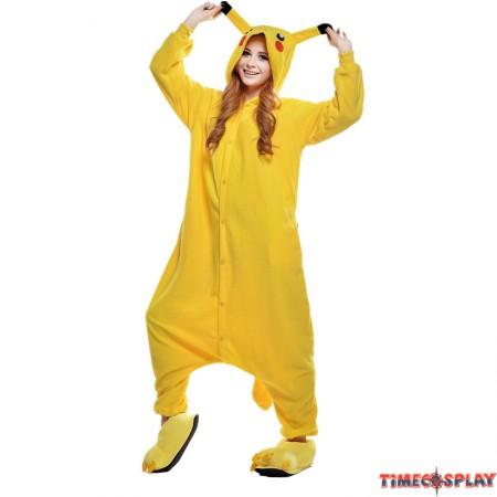 Pikachu Onesie Kigurumi Pajama for Adults