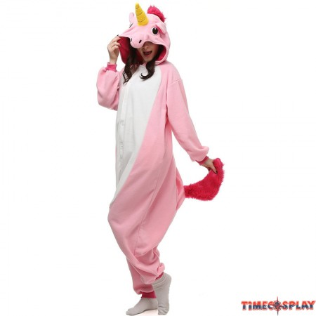 Pink Unicorn Onesie Kigurumi Pajama For Adults