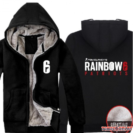 timecosplay Tom Clancy's Rainbow Six Siege Zipper Hoodies Sweatshirts