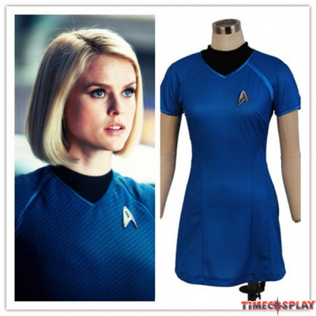 Star Trek Into Darkness Carol Marcus Blue Uniform Dress Costumes