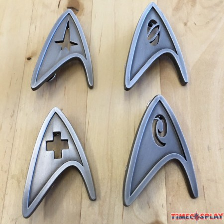 Star Trek Cosplay Brooch Starfleet Metal Badge