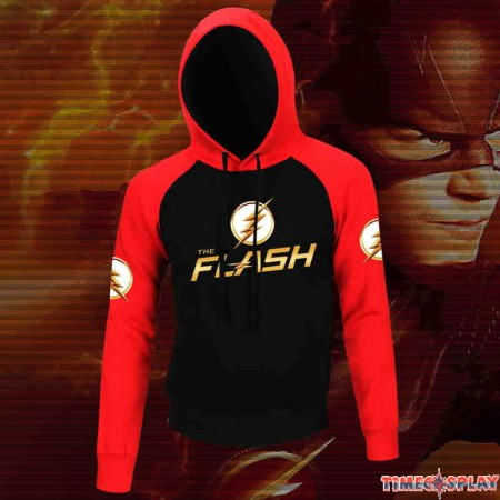 DC The Flash Icon Hoodie Baseball Jacket Overcoat