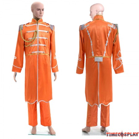 The Beatles Sgt. Pepper's Lonely Hearts Club Band George Harrison Cosplay Costume