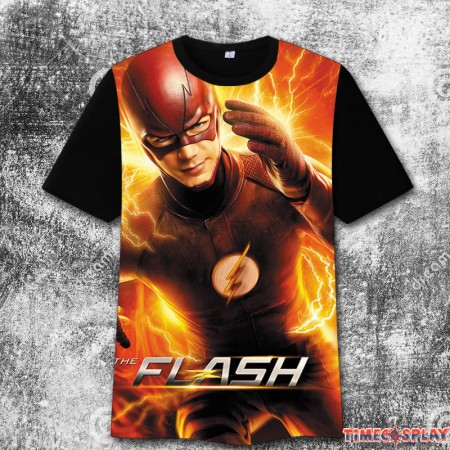 The Flash 3D iImage3 Print Harajuku Tee Shirt T-Shirts