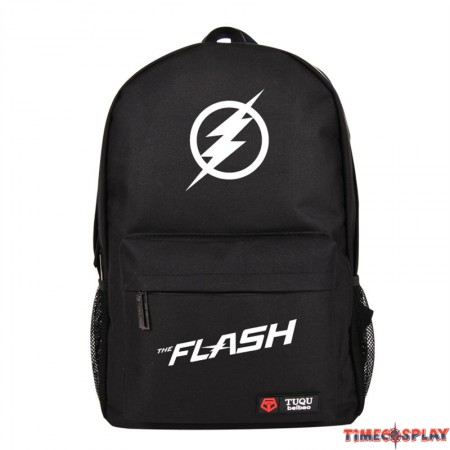 The Flash Logo Backpack Schoolbag