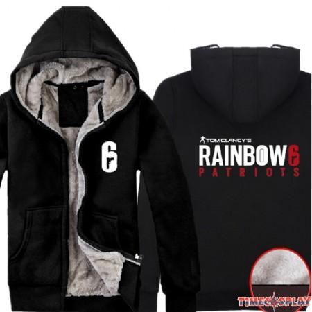 Timecosplay Tom Clancy's Rainbow Six Siege Zipper Hoodies