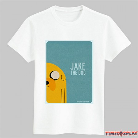 Timecosplay Adventure Time Jake Tee Shirts