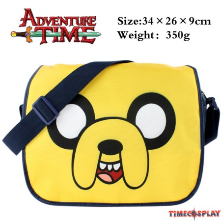 Timecosplay Adventure Time with Finn and Jake Messenger bag