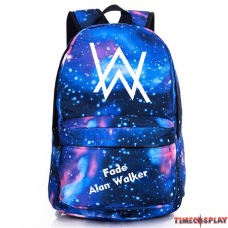 Timecosplay Alan Walker Backpack Schoolbag Booksbag