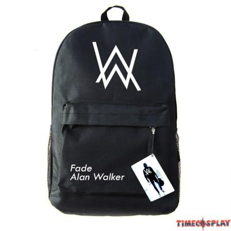 Timecosplay Alan Walker Faded Backpack Schoolbag Booksbag