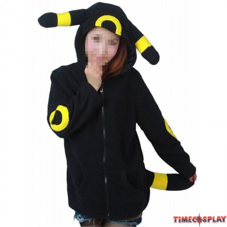 Timecosplay Anime Pokemon Go Umbreon Cosplay Hoodie Kigurumi Sweater