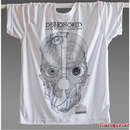 Timecosplay Dishonored Logo 3D Print Harajuku Tee Shirts
